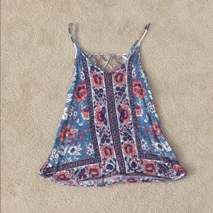Urban Outfitters ecote floral top